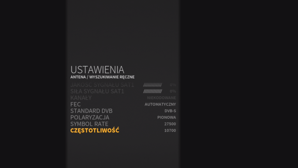 Instalacja kanałów FTA w Cyfrowym Polsacie
