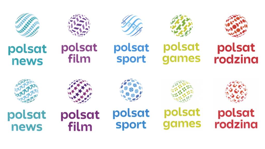Nowe logo Polsat - kanały tematyczne