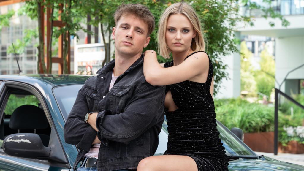 Maciej Musiał i Kasia Sawczuk