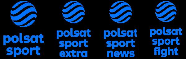 Polsat Sport, Polsat Sport Extra, Polsat Sport News, Polsat Sport Fight nowe logo